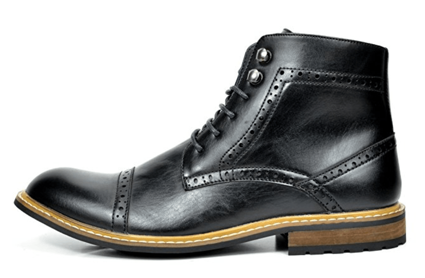BRUNO MARC Classic Ankle High Casual Dress Boots