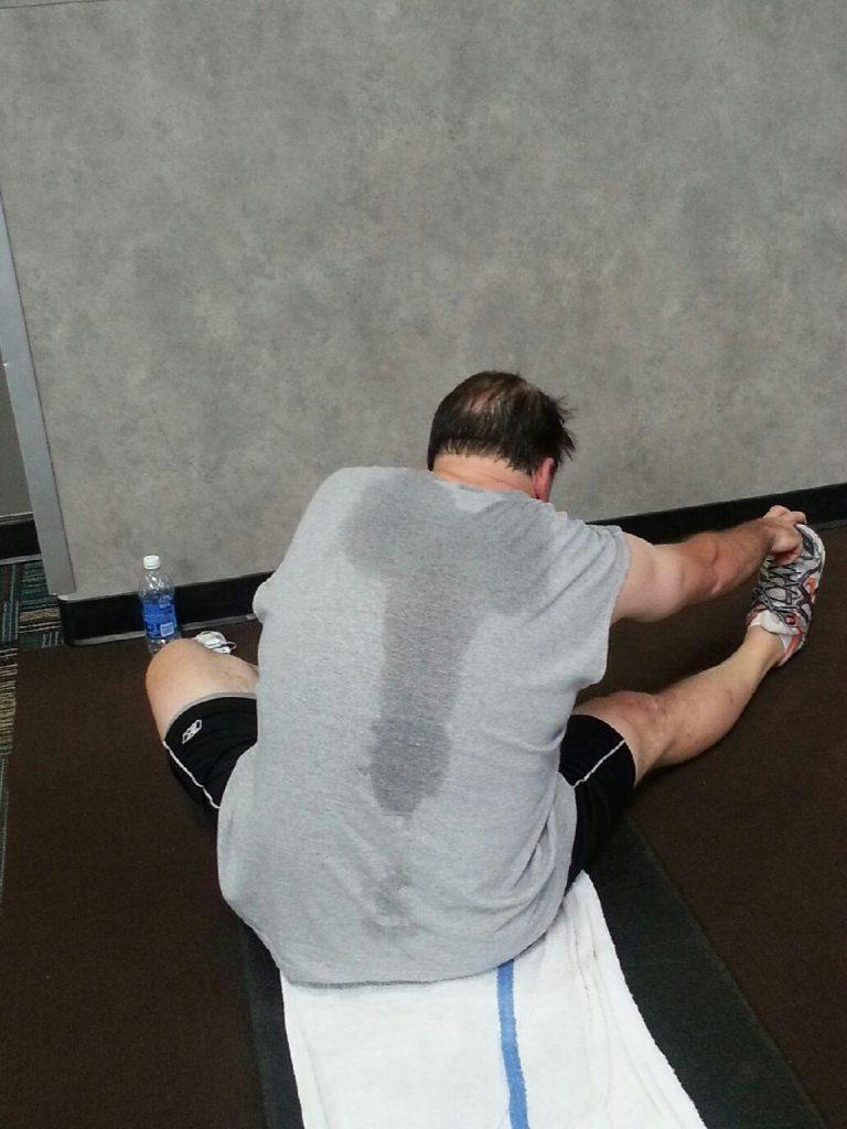 sweaty balls cure