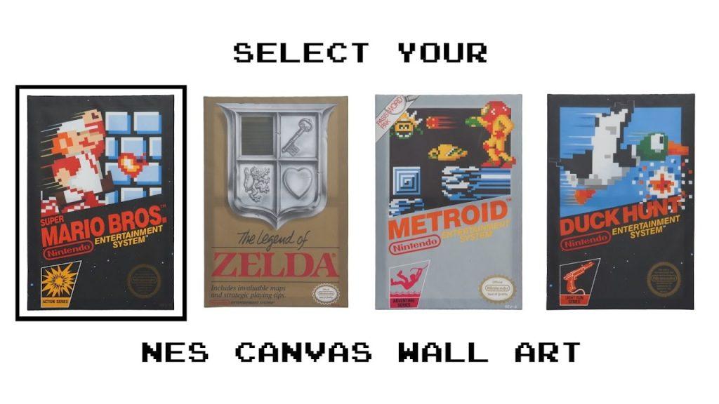 canvas art nes