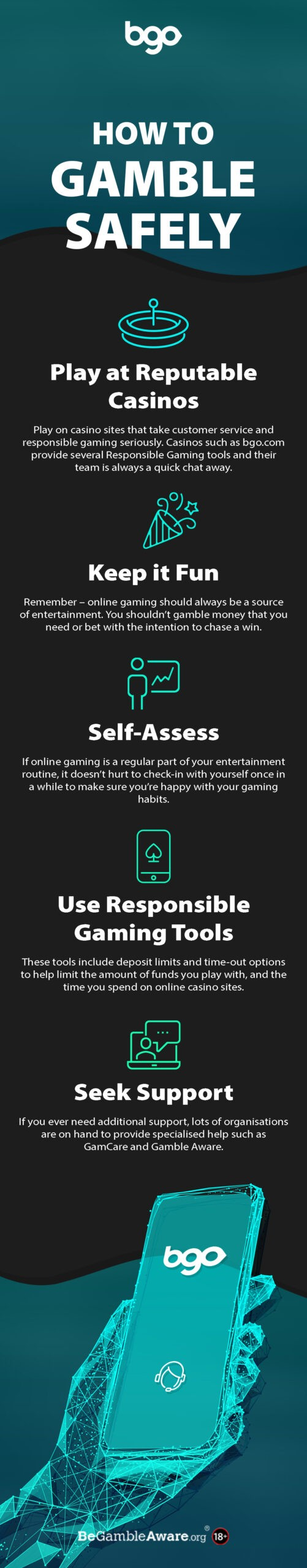 How to Gamble Safely Infographic scaled
